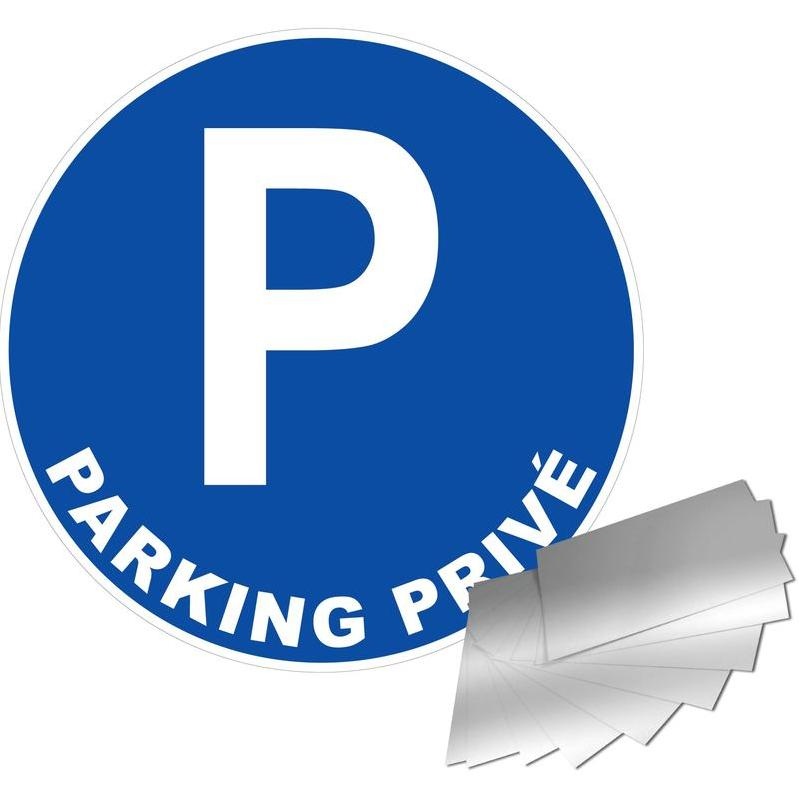 NOVAP - PANNEAU PARKING PRIVÉ - ALU Ø300MM - 4010601