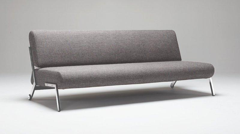 Innovation living canape design debonair gris convertible for Canape 130 cm