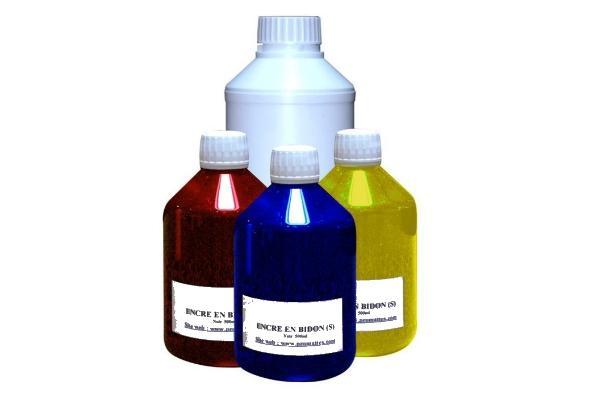 Encre sublimation cyan light en bidon 500 ml