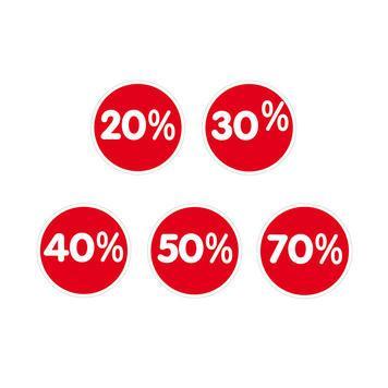 Auto-adhésif   20 %
