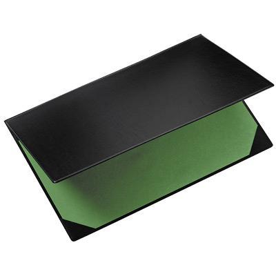 SOUS MAIN DOUBLE EN PVC AVEC BUVARD EXACOMPTA- FORMAT 40X60 CM - NOIR