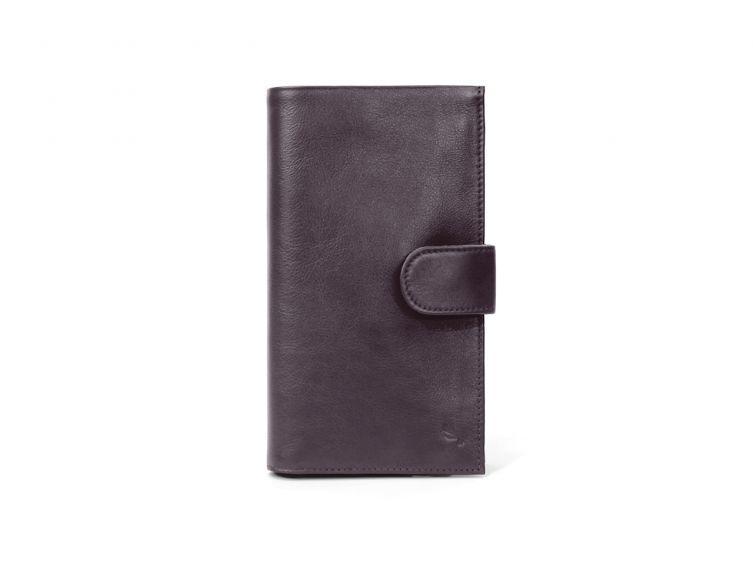 Portefeuille en cuir marron - cvo 464 marron