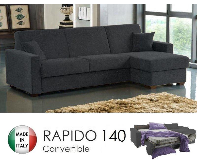 canape d 39 angle reversible 3 4 places dreamer convertible ouverture rapido 140 195 14 en. Black Bedroom Furniture Sets. Home Design Ideas