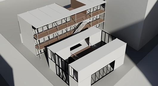 location cabane de chantier. Black Bedroom Furniture Sets. Home Design Ideas