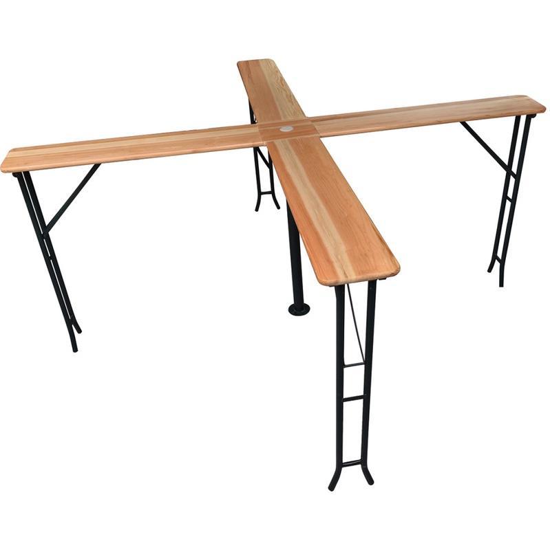 Tables pliables comparez les prix pour professionnels sur page 1 - Table de jardin avec parasol ...