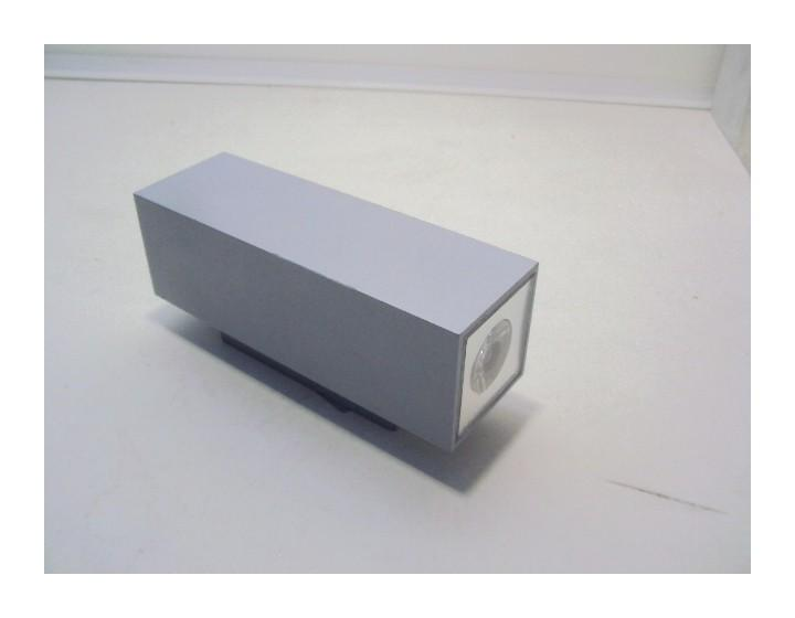 APPLIQUE LED 6W SDB CHROMÉ 260X85MM SPOT FIXE LUMIÈRE BLANC CHAUD ...