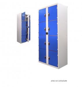 Armoires vestiaires casiers en stratifi - France Equipement