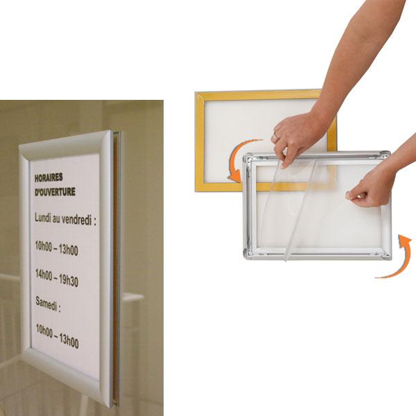 cadre clic clac double face a1 comparer les prix de cadre clic clac double face a1 sur. Black Bedroom Furniture Sets. Home Design Ideas