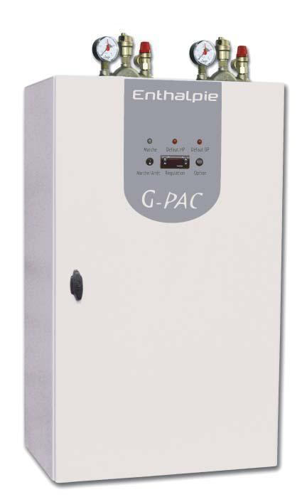 pompe a chaleur eau eau par sonde geothermique module g pac. Black Bedroom Furniture Sets. Home Design Ideas