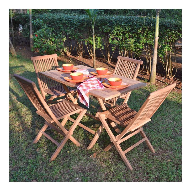 Salon de jardin teck\\\'attitude - Achat / Vente de salon de jardin ...