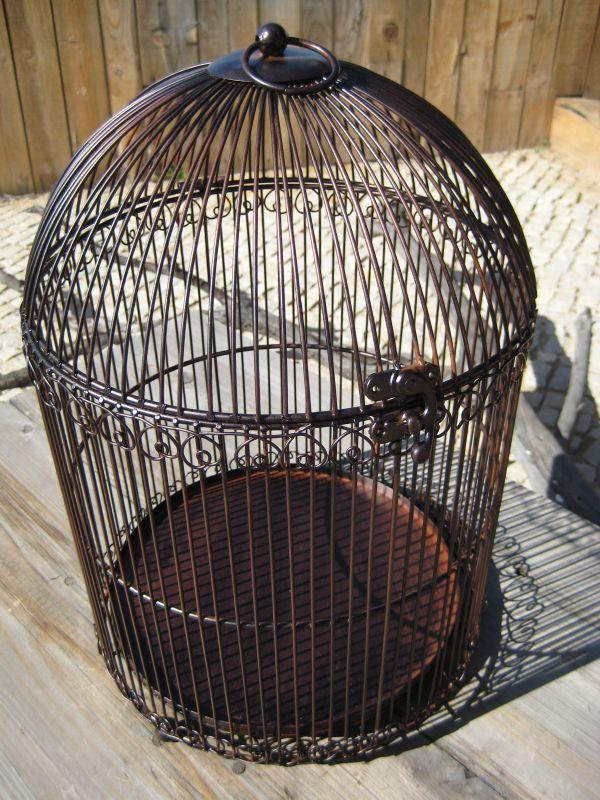 pin cage oiseau suspendre cr ation coeur d artichaut. Black Bedroom Furniture Sets. Home Design Ideas