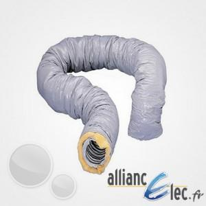 GAINE ISOLÉE ATLANTIC PVC DIAM. 125 - LONGUEUR 10M