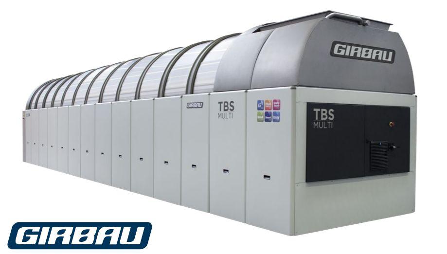 Tbs-50/5 tbs-multi tunnel de lavage de linge - girbau - 5.910 mm