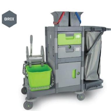 Chariot de nettoyage avec attache seaux tous les for Produit nettoyage crepis exterieur
