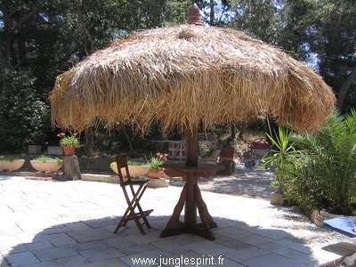 Parasol cancun : paillote tropicaux   ref.: pc d3 md