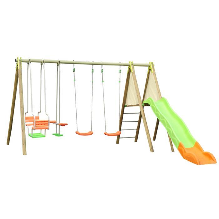 structure pour aire de jeux comparez les prix pour. Black Bedroom Furniture Sets. Home Design Ideas
