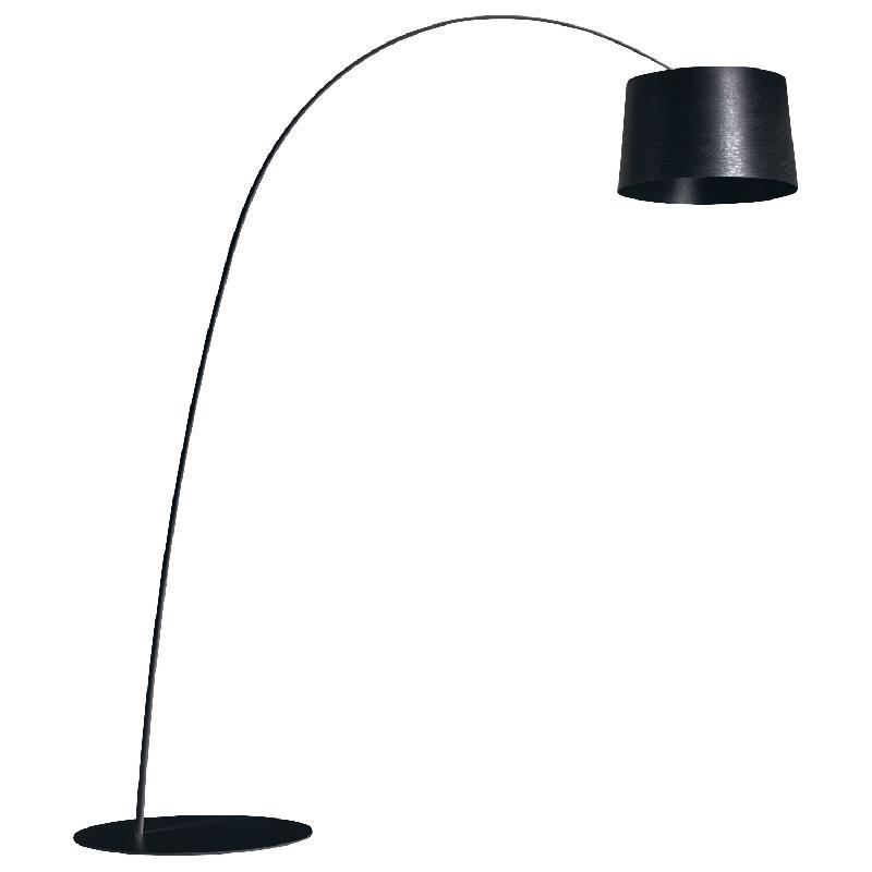 twiggy lampadaire arc led noir h215cm lampadaire foscarini design par marc sadler comparer. Black Bedroom Furniture Sets. Home Design Ideas