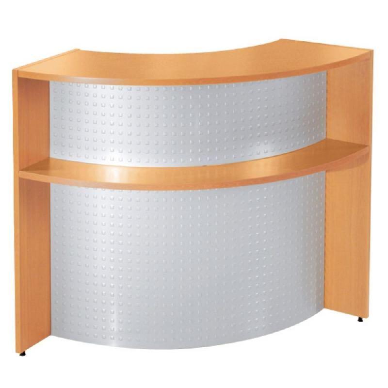 banque d 39 accueil angle nf environnement blanc x p 86 cm comparer les prix de banque d. Black Bedroom Furniture Sets. Home Design Ideas