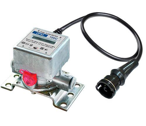 Débitmètre de carburant dfм - gurtam - débit réel en mode veille/optimal/surcharge - sans résistance hydraulique