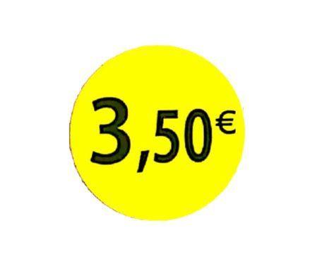 étiquette adhésive  3.50eur