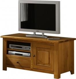 Meuble tv hifi lcd plasma chene 1 porte 1 tiroir for Meuble hifi porte