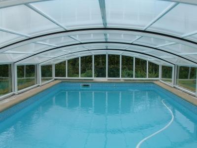 Marigny tubes produits abris de piscines for Abris piscine coulissant sans rail