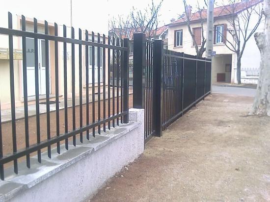 Barreaudage cheyenne for Barriere aluminium jardin