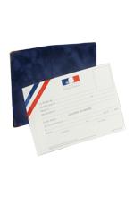 CARTE DE FONCTION DE MAIRE ADJOINT - ETUI BLEU RÉF 0706.502
