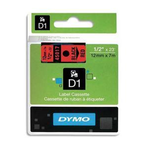 DYM RUBN DYMO D1 12MMX7M N/RGE 45017