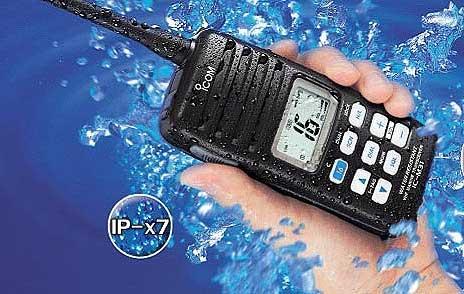 Marine vhf / hf blu ic-m31