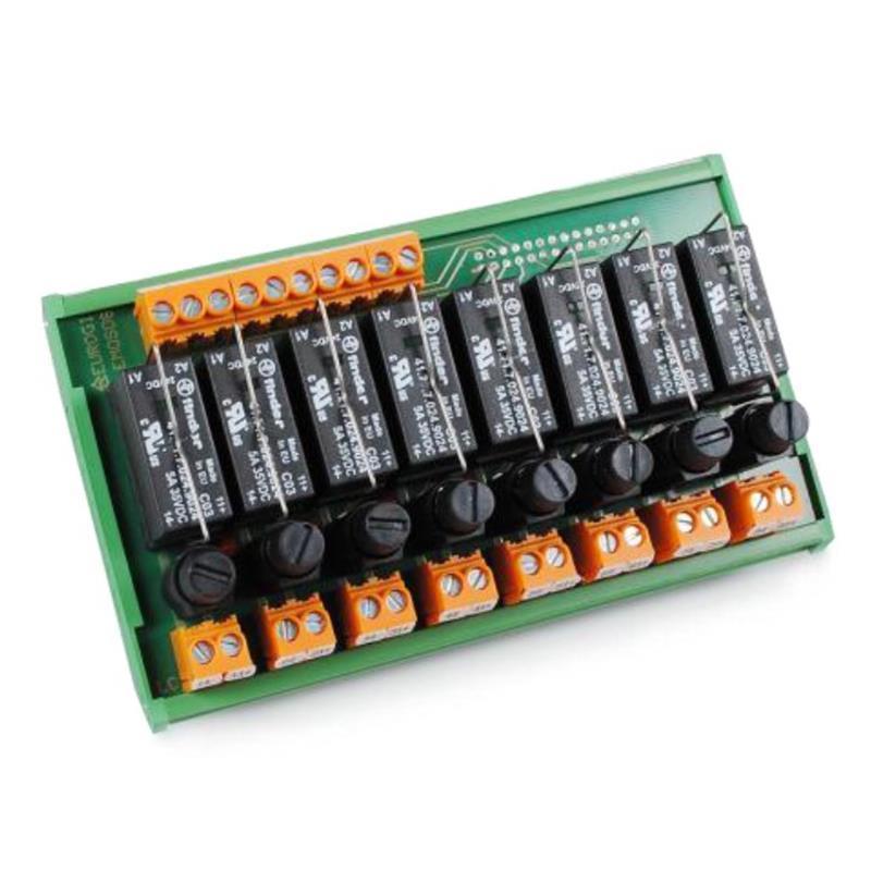 Module 16 relais spdt 16a - fus. debr 31e017511 | emrf16.16z/24c