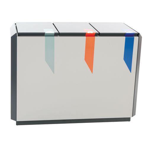 poubelle tri s lectif en aluminium tous les fournisseurs. Black Bedroom Furniture Sets. Home Design Ideas