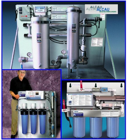 Purificateur d'eau avec adoucisseur - aqua cleaner