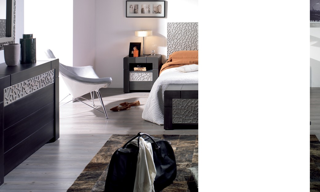 commode adulte 4 tiroirs contemporaine cameron coloris. Black Bedroom Furniture Sets. Home Design Ideas