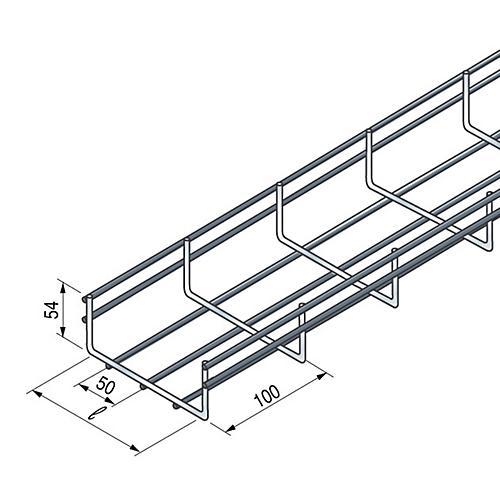 chemin de c ble unifil uf 54 50 niedax france comparer les prix de chemin de c ble unifil uf 54. Black Bedroom Furniture Sets. Home Design Ideas