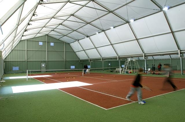 Couvertures de terrain de sport