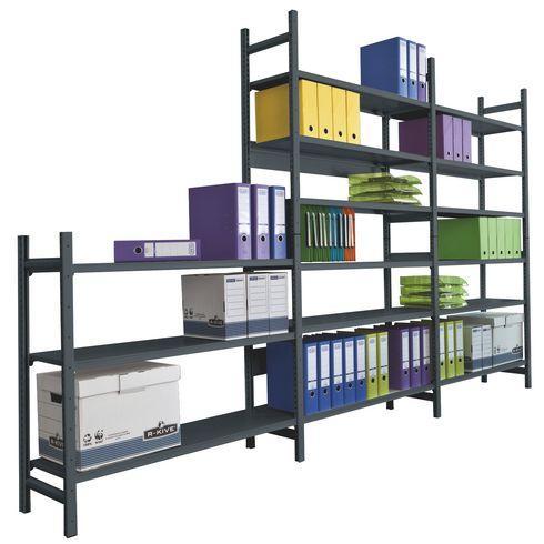 rayonnages de bureau bureau pro comparer les prix de rayonnages de bureau bureau pro sur. Black Bedroom Furniture Sets. Home Design Ideas