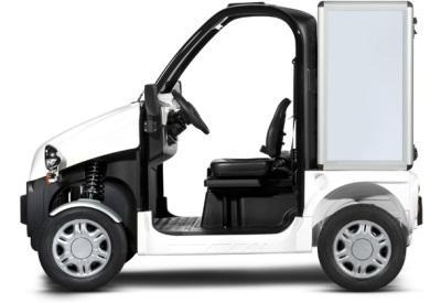 golfette utilitaire electrique ligier be sun l1 avec coffre. Black Bedroom Furniture Sets. Home Design Ideas
