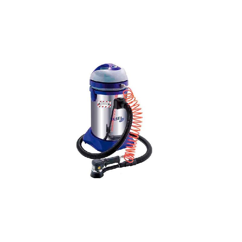 aspirateur eau et poussiere 37 l inox cat h pneumatique electrique autonettoyant 230v. Black Bedroom Furniture Sets. Home Design Ideas