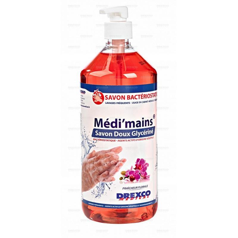 Lotion lavante medi'mains floral 1 litre