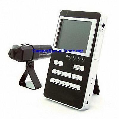kit camera de surveillance sans fil avec enregistrement. Black Bedroom Furniture Sets. Home Design Ideas