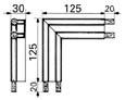 Raidisseur pour joint porte isotherme de chambre froide n°4453