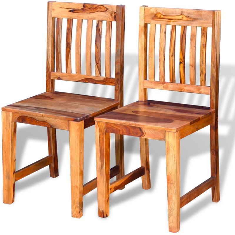 Chaises pour salles manger comparez les prix pour for Chaise de salle a manger en chene massif recouvert de tissu