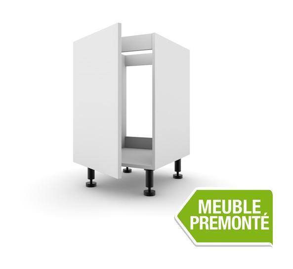 Meubles bas de cuisine expo cuisines achat vente de for Meuble 1 porte sous evier