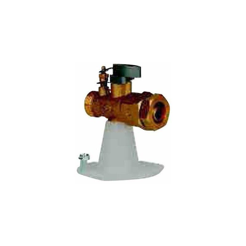 ROBINET JONCTION SPHÉRO-CONIQUE TYPE E, GAZ À SOCLE PE 32/M33X42 - GURTNER