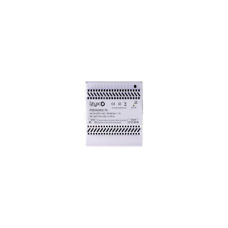 IZYX ALIMENTATION RAIL DIN 230VAC/24VDC 2.75A - IZYX - PSDX2402.75