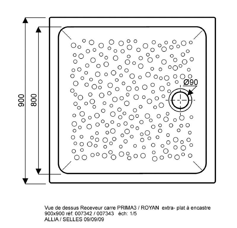 receveurs de douches comparez les prix pour professionnels sur page 1. Black Bedroom Furniture Sets. Home Design Ideas