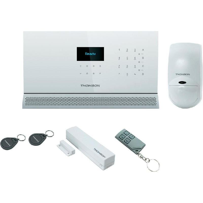 alarme maison sans fil multizones haut de gamme gsm rtc