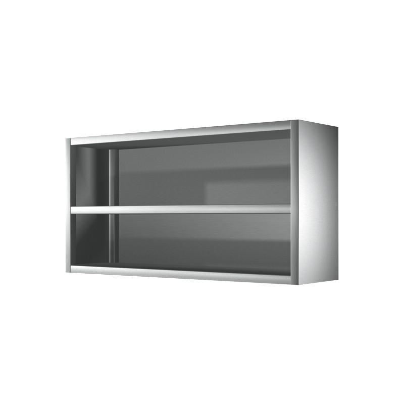 Meuble haut cuisine inox table de lit for Table de cuisine inox