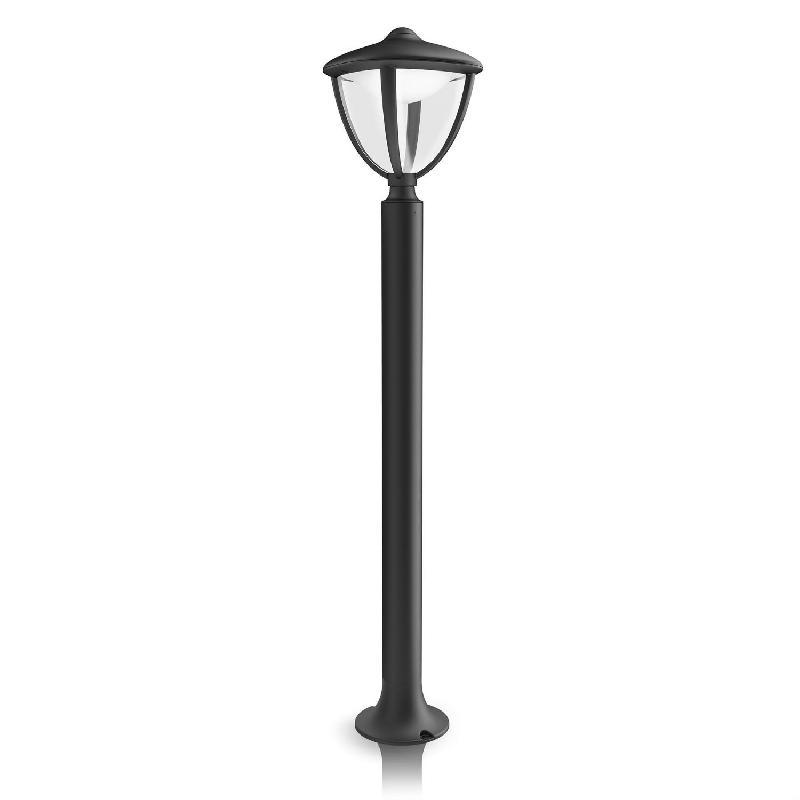 Borne lumineuse philips achat vente de borne lumineuse for Luminaire exterieur sur pied